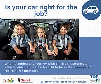 Best Practice Guidelines for the Safe Restraint of Children Travelling in Motor Vehicles