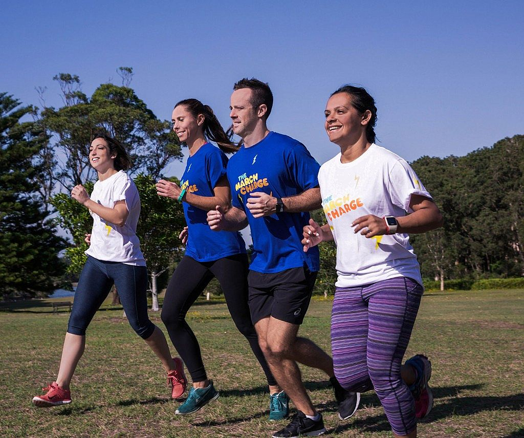 Become a Charger this March and help Cancer Council Run Towards a Cancer-Free Future