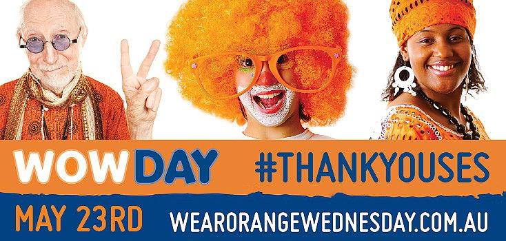 WOW Day - Wear Orange Wednesday to Thank SES Volunteers